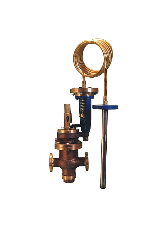 Combination Pressure and Temp. Regulators