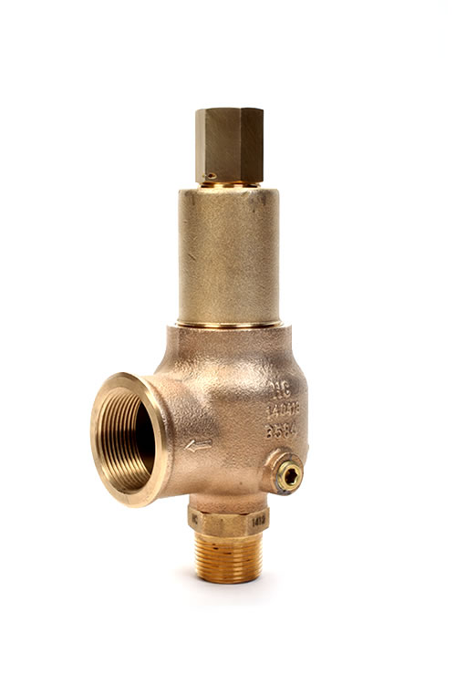 Kunkle brass safety pressure relief vacuum